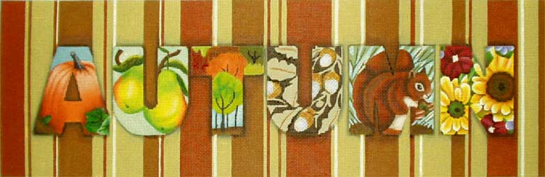 click here to view larger image of Autumn (hand painted canvases)