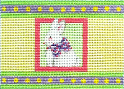 click here to view larger image of Bunny Cracker - Easter Cracker series (hand painted canvases)