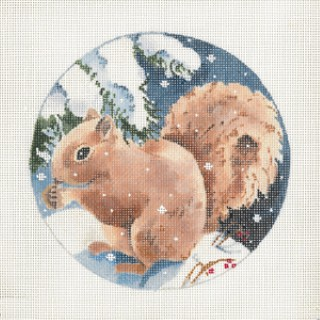 click here to view larger image of Brown Squirrel (hand painted canvases)