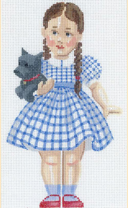 click here to view larger image of Dorothy (hand painted canvases)