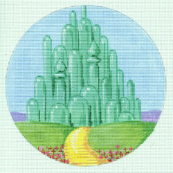 click here to view larger image of Emerald City, The (hand painted canvases)