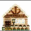 click here to view larger image of Chocolate House (hand painted canvases)