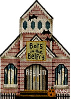 click here to view larger image of Bats in the Belfry Asylum (hand painted canvases)
