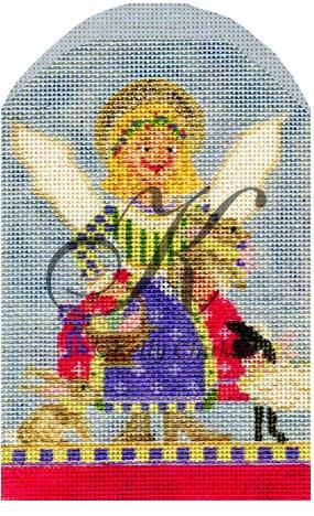 click here to view larger image of April Angel of Easter (hand painted canvases)