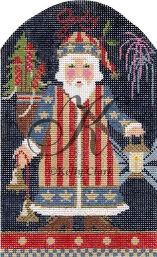 click here to view larger image of Independence Day Santa Stitch Guide (books)