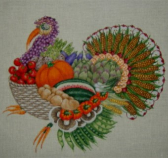 click here to view larger image of Archie Turkey (hand painted canvases)