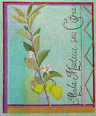 click here to view larger image of Besler Lemon (hand painted canvases)