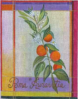 click here to view larger image of Besler Orange (hand painted canvases)