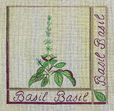 click here to view larger image of Basil (hand painted canvases)
