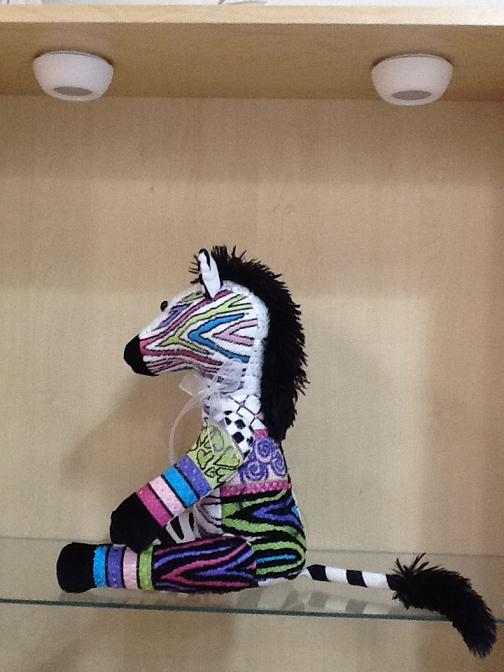 click here to view larger image of Zoe Zebra (Stitch Guide Only) (books)