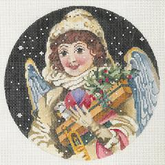 click here to view larger image of Angel Bearing Gift (hand painted canvases)