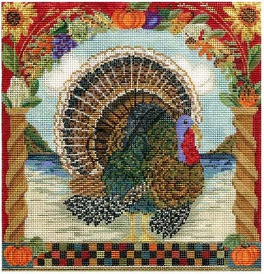 click here to view larger image of Handsome Tom Turkey (Stitch Guide Only) (books)