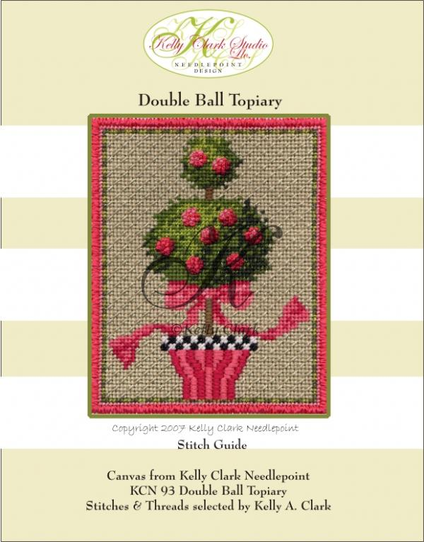 click here to view larger image of Double Ball Topiary (Stitch Guide Only) (books)