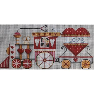 click here to view larger image of Love Train (hand painted canvases)