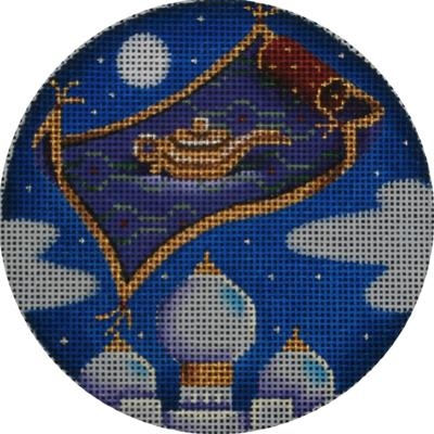 click here to view larger image of Aladdin Ornament (hand painted canvases)
