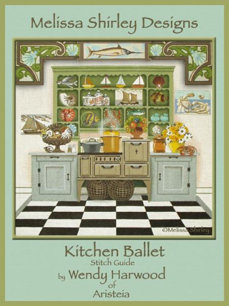 click here to view larger image of Kitchen Ballet Stitch Guide (books)