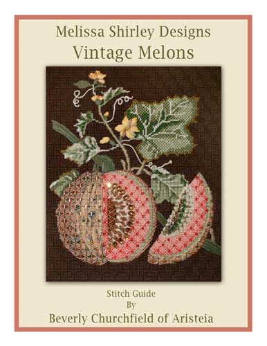 click here to view larger image of Golden Melon stitch guide (books)
