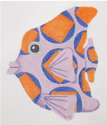click here to view larger image of Fish (hand painted canvases)