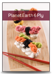 click here to view larger image of Planet Earth 6 Ply (Solid) (fibers)