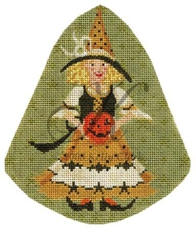 click here to view larger image of Jacquelyn Jack-o-lantern Stitch Guide (books)