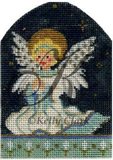 click here to view larger image of Littlest Angel, The - Stitch Guide (books)
