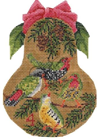 click here to view larger image of Four Calling Birds Pear Stitch Guide (books)