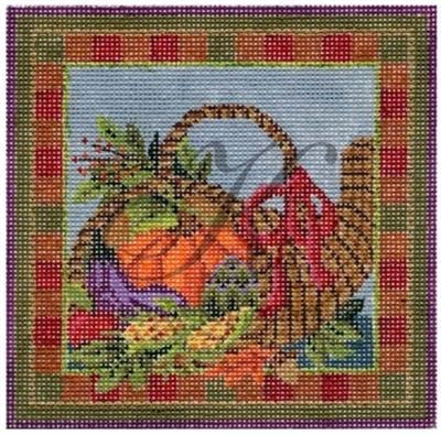 click here to view larger image of Autumn Harvest Basket Stitch Guide (books)