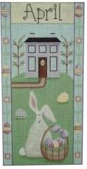 click here to view larger image of Easter Folk Banner (None Selected)