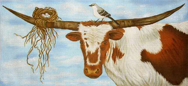 click here to view larger image of Lazy Day in Texas, A (hand painted canvases)