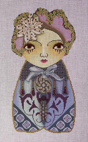 click here to view larger image of Bijoux Fairy Doll (hand painted canvases)