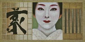 click here to view larger image of Geisha Scroll 1 Stitch Guide (books)