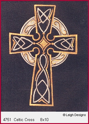 click here to view larger image of Celtic Cross (hand painted canvases)