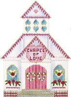 click here to view larger image of Chapel of Love (hand painted canvases)