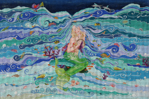 click here to view larger image of Enchanted Mermaids Dream (hand painted canvases)