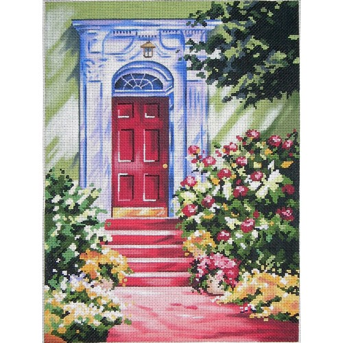 click here to view larger image of Mid Summer Entrance (hand painted canvases)