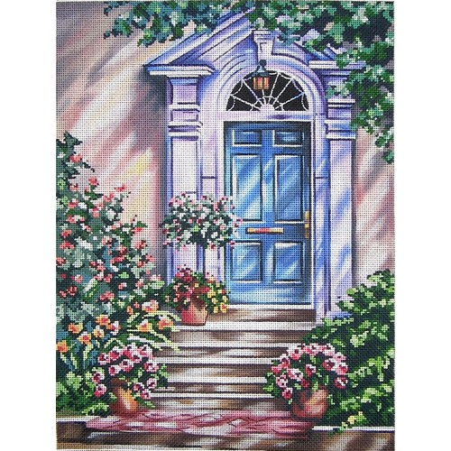 click here to view larger image of Tranquil Doorway (hand painted canvases)