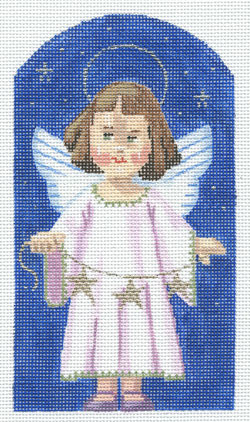 Angel - Kindergarten Nativity hand painted canvases