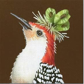 click here to view larger image of Johnny the Woodpecker (hand painted canvases)