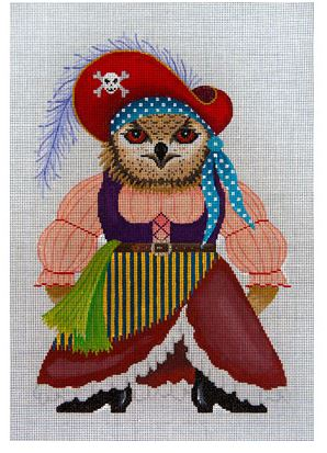 click here to view larger image of Hysterical Hooter Wench (hand painted canvases)