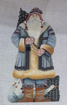 click here to view larger image of Nordic Santa (hand painted canvases)