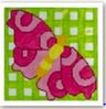 click here to view larger image of Butterfly Square (hand painted canvases)