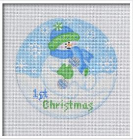click here to view larger image of Baby Snowboy (hand painted canvases)