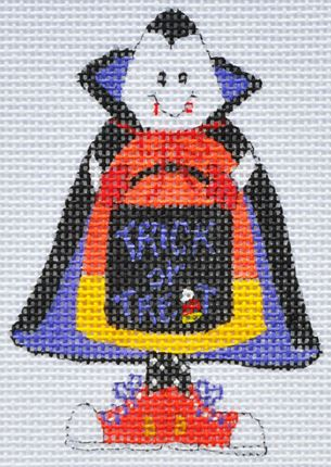 click here to view larger image of Count Candy Corn (hand painted canvases)