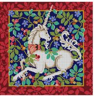 click here to view larger image of Unicorn (hand painted canvases)