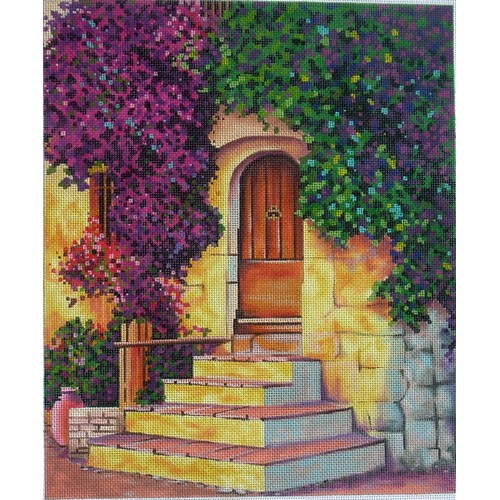 click here to view larger image of La Grange (hand painted canvases)