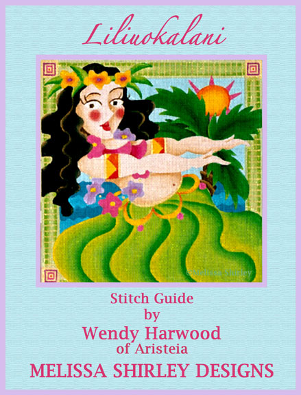 click here to view larger image of Liliuokalani Stitch Guide (books)