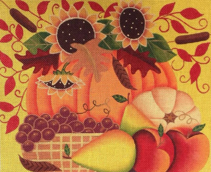 click here to view larger image of Autumn Harvest (hand painted canvases)