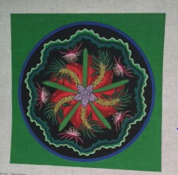 click here to view larger image of Fireworks (hand painted canvases)