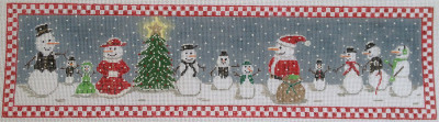 click here to view larger image of Snow People Party (hand painted canvases)