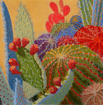 click here to view larger image of Desert Jewels (hand painted canvases)